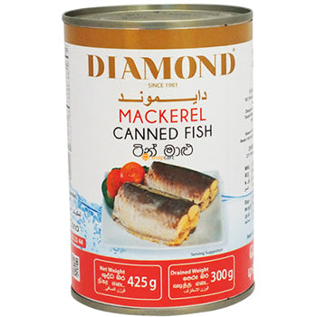 Diamond Mackerel Canned fish -425g