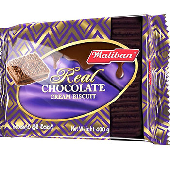 Maliban Chocolate Cream Biscuit 400g