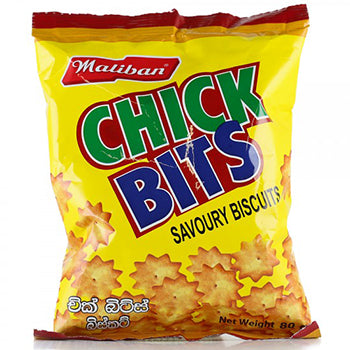 Maliban Chick Bits  Biscuit 80g