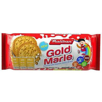 Maliban Gold Marie Biscuit 75g