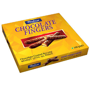 Ritzbury Chocolate Fingers 200g