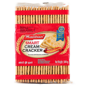 Maliban Smart Cream Cracker Biscuits 500g
