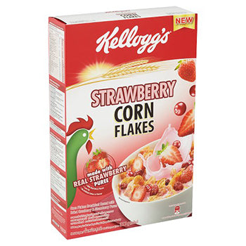 Kelloggs Strawberry flavor C/Flakes (300g)