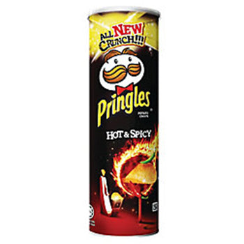 Pringles Hot & Spicy (107g)/(110g)