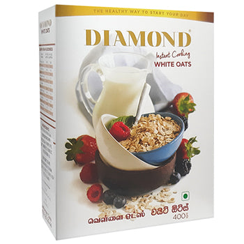Diamond White Oats Instant Cook 400 g