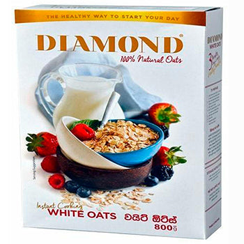 Diamond White Oats Instant Cook 800 g