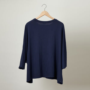 Marina Three Quarter Sleeve Dolman Tee
