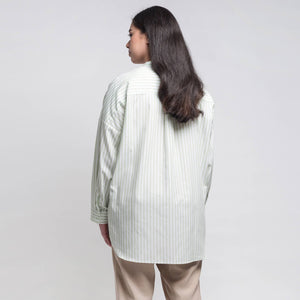 Abri Long Sleeve Nehru Collar Top