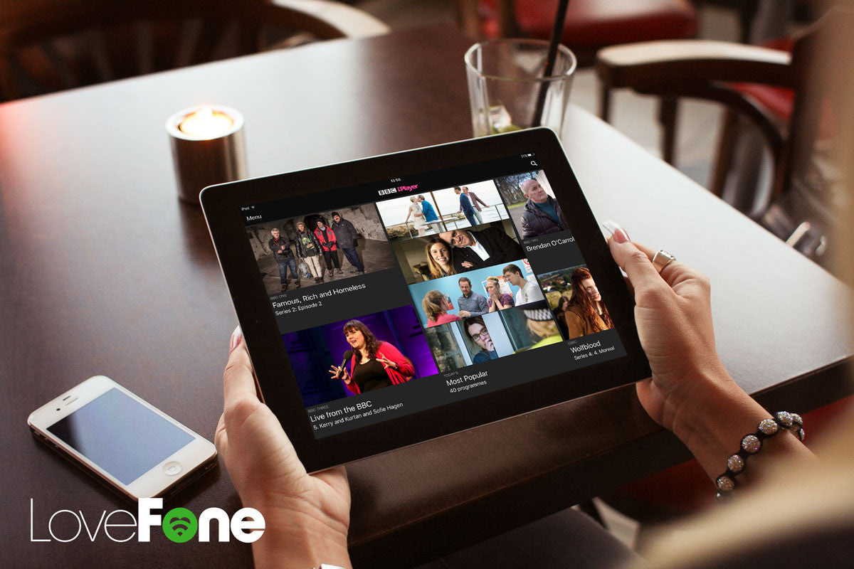 Smartphones and tablets facing license fees from BBC - Lovefone, London