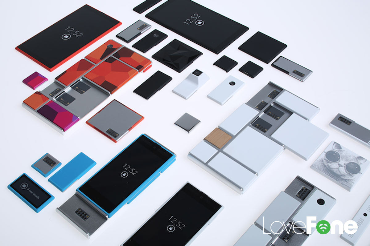 The first modular smartphone: the Google Ara - Lovefone, London