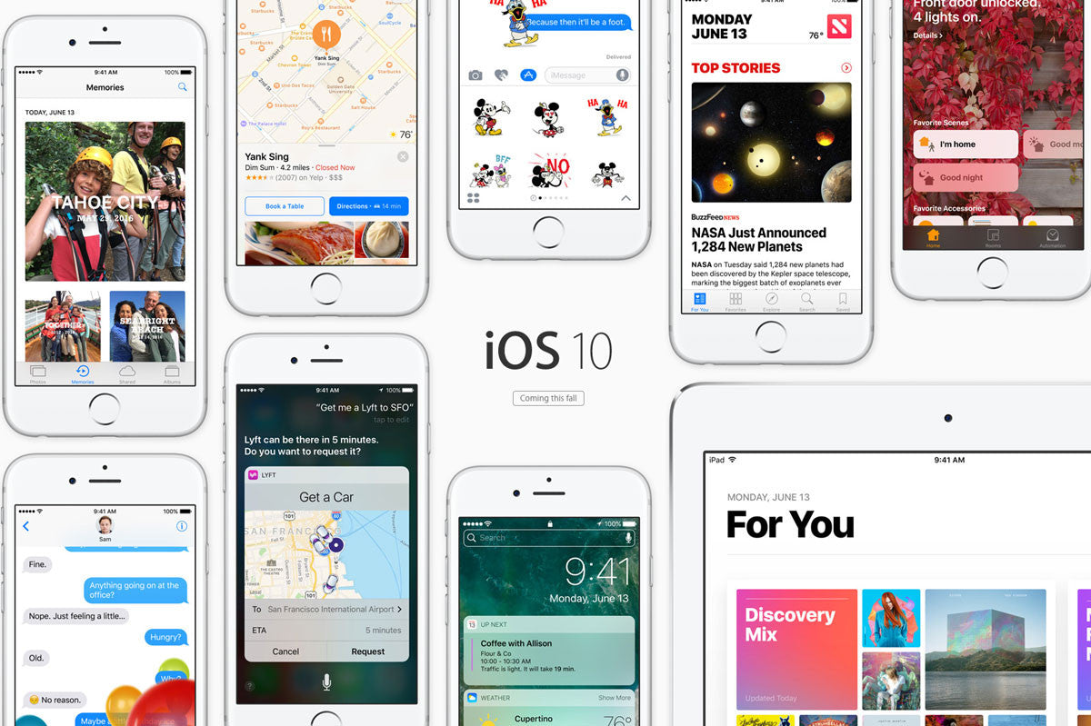 The top 10 of iOS 10: what's coming for your iPhone - Lovefone, London