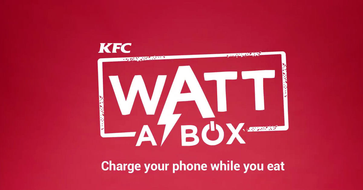 KFC giving away battery-boxes in India - Lovefone, London