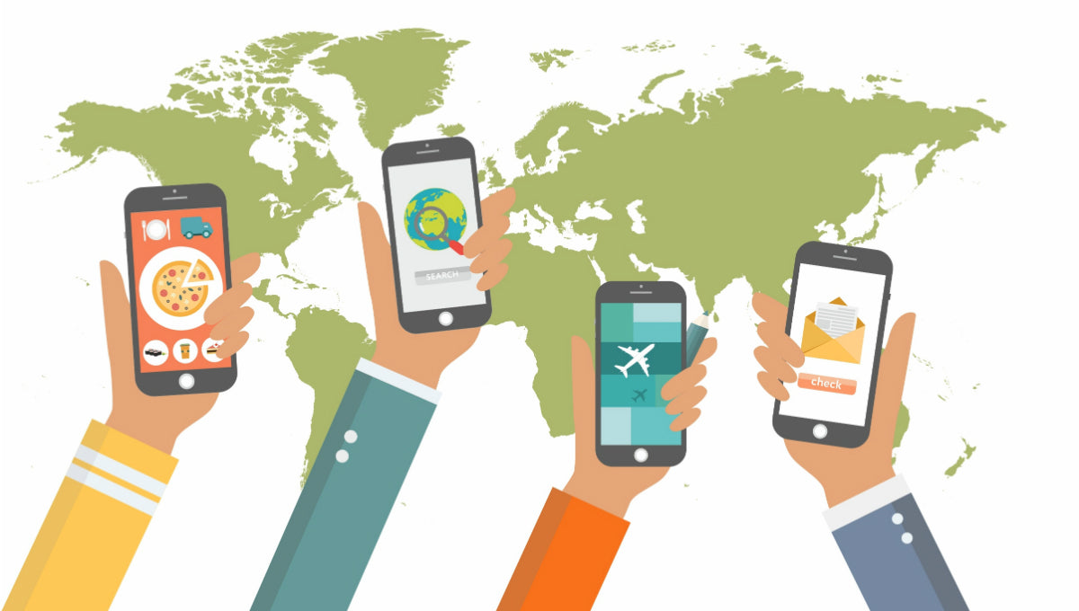 Mobile Phone Usage: Smartphone etiquette across the globe - Lovefone, London