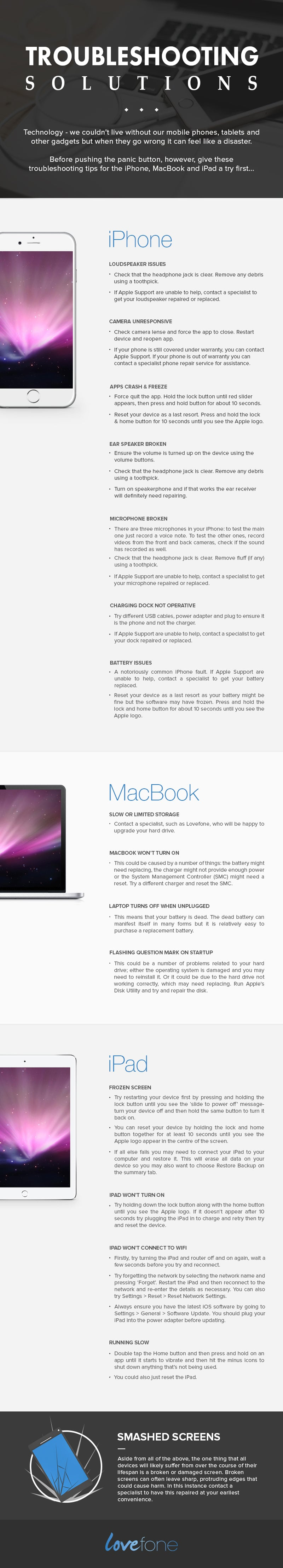 Troubleshoot your Apple related problems 2