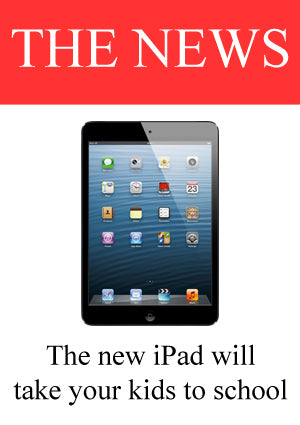 The new iPad will take your kids to school