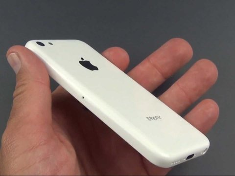 White iPhone 5C casing