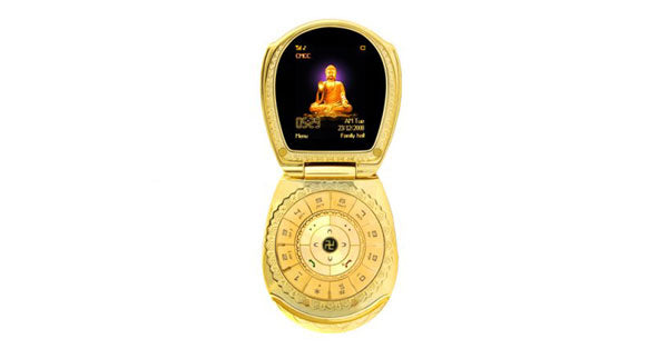 Golden Buddha phone