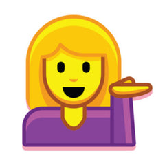 Information Desk Girl Emoji