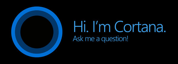 Microsoft Cortana personal assistant