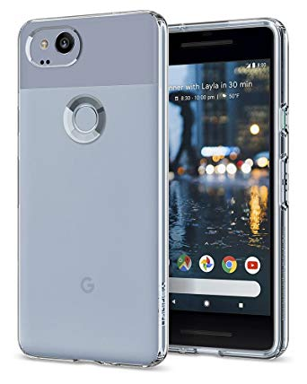 Spigen Liquid Crystal Slim & Soft - Pixel 2