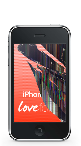 iPhone 3G LCD replacement - Lovefone