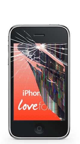 iPhone 3G screen and LCD replacement - Lovefone