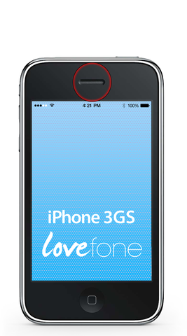 iPhone 3GS ear speaker replacement - Lovefone