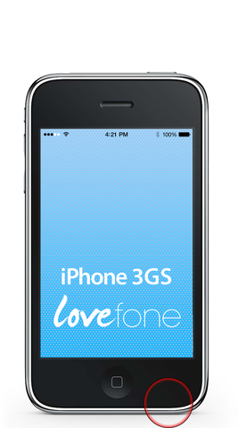 iPhone 3GS loudspeaker replacement - Lovefone