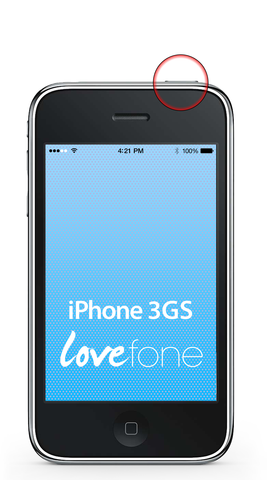 iPhone 3GS power button replacement - Lovefone