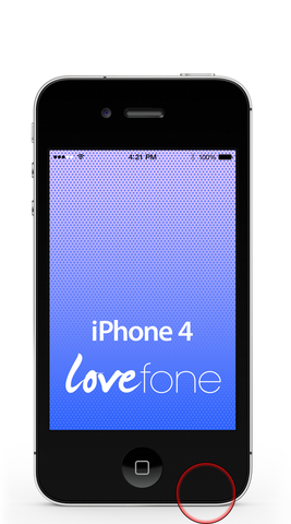 iPhone 4 loudspeaker replacement - Lovefone