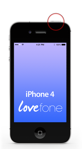 iPhone 4 power button replacement - Lovefone