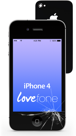 iPhone 4 screen and back case replacement - Lovefone