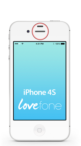 iPhone 4S ear speaker replacement - Lovefone