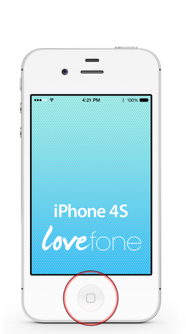 iPhone 4S home button replacement - Lovefone