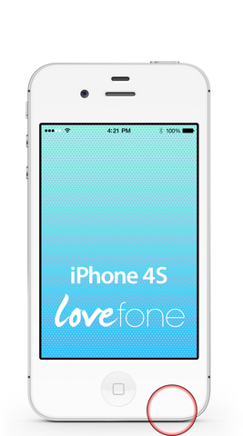 iPhone 4S loudspeaker replacement - Lovefone