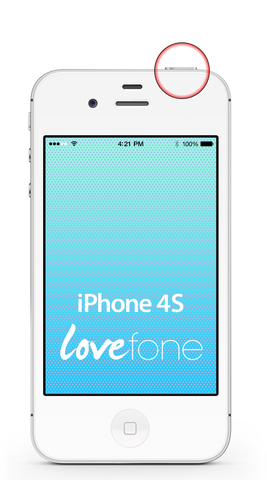 iPhone 4S power button replacement - Lovefone
