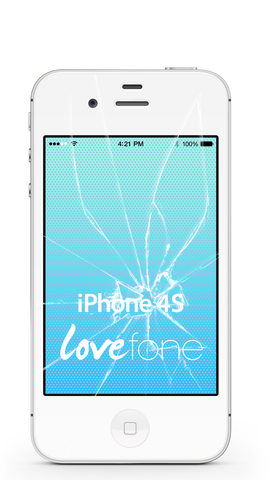 iPhone 4S screen repair - Lovefone