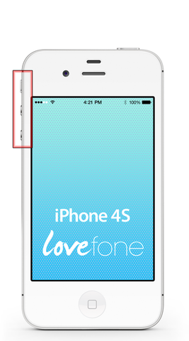 iPhone 4S volume buttons replacement - Lovefone
