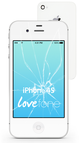 iPhone 4S screen and back case replacement - Lovefone