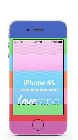 iPhone 4S colour conversion - Lovefone
