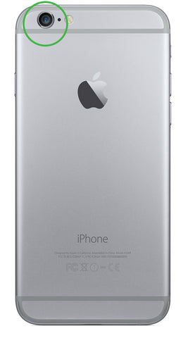 check out a172e c5e79 iPhone 6 back camera replacement - Lovefone