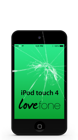 iPod touch 4 screen replacement - Lovefone