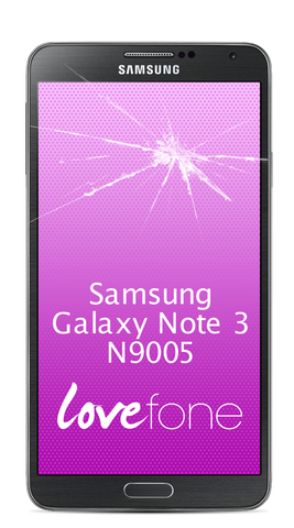 Samsung Galaxy Note 3 screen replacement - Lovefone