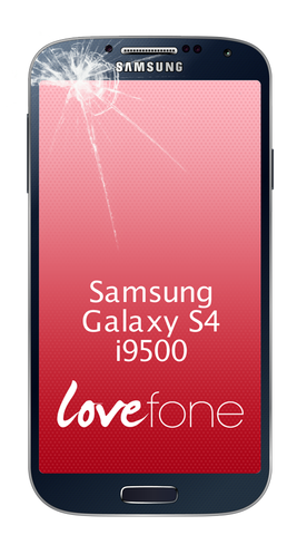 Samsung Galaxy S4 i9500 screen replacement - Lovefone