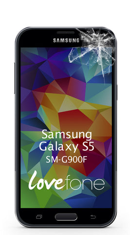 Samsung Galaxy S5 SM-G900F screen replacement - Lovefone