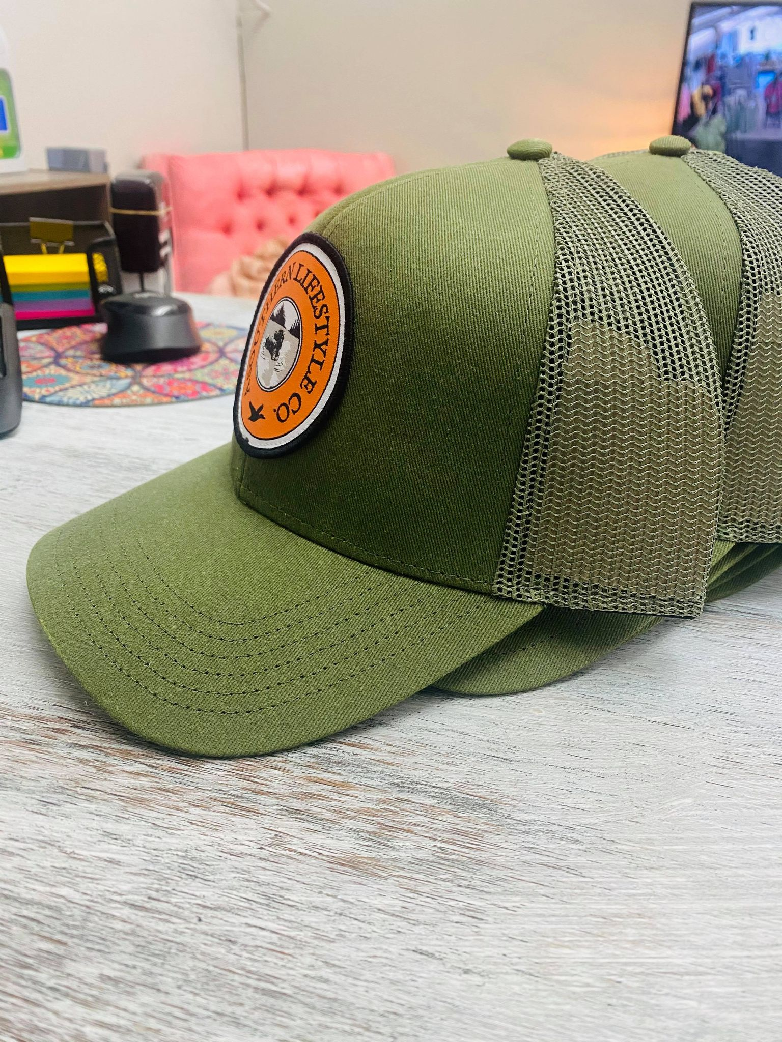 """Lake Dog"" A Southern Lifestyle Hat"