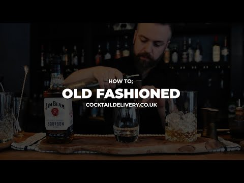 Jimmy B Old Fashioned Video – Cocktail Delivery UK - Free Delivery
