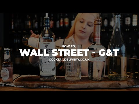 Wall Street Gin Cocktail Video - Cocktail Delivery UK - Free Delivery