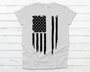American flag black- Customize