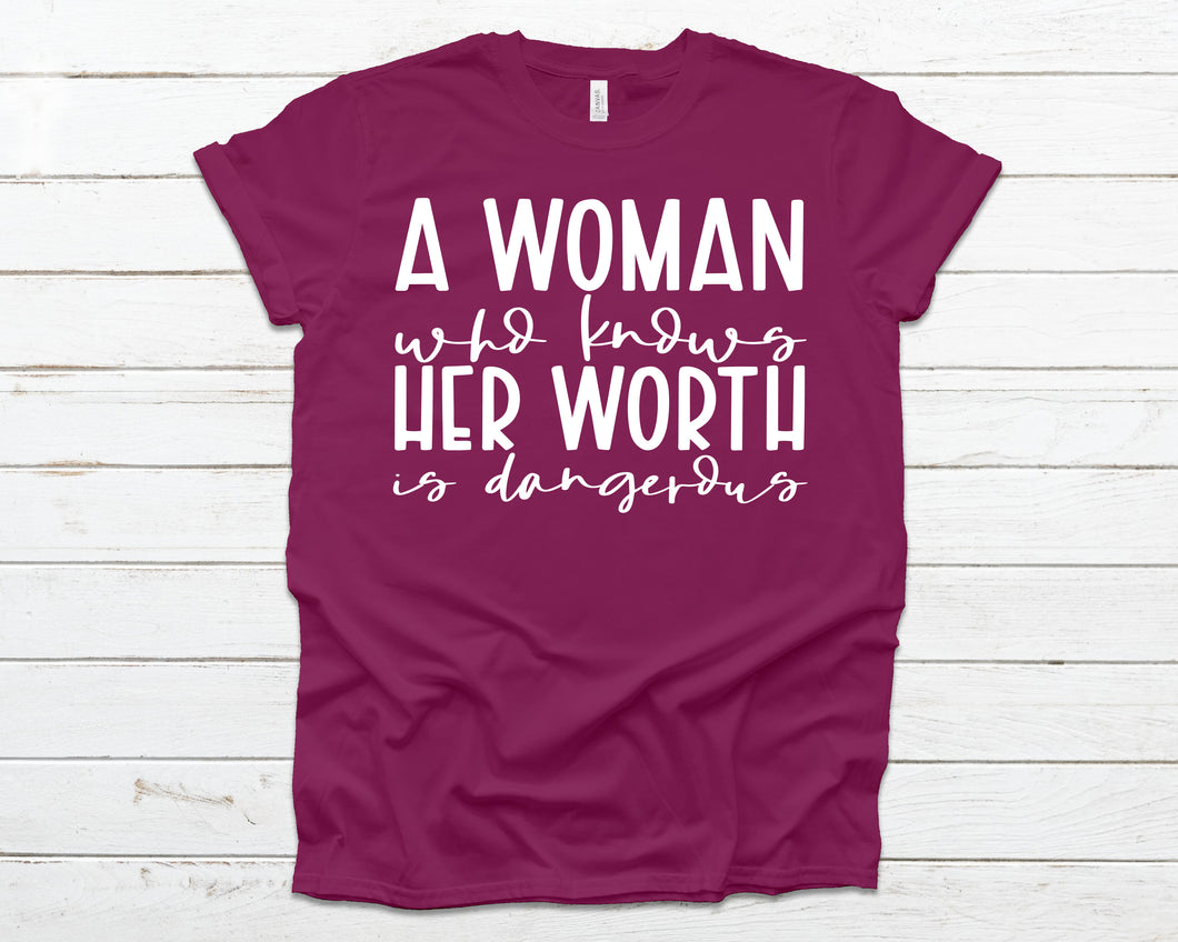 A woman who knows her worth is dangerous